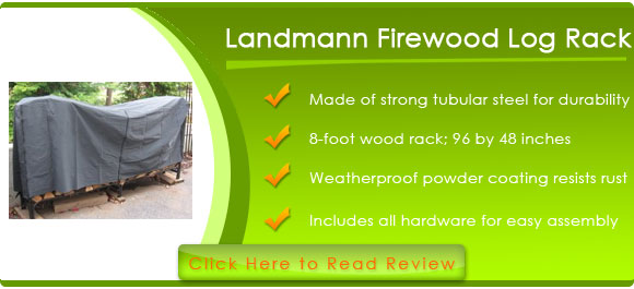Landmann 82433 8-Feet Firewood Log Rack