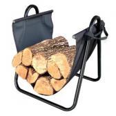 Landmann Firewood Log Holder with Canvas Carrier Review