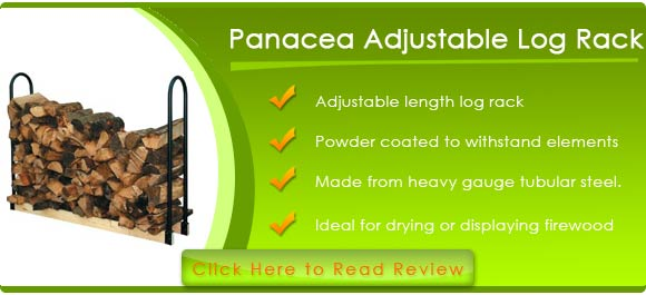 Panacea 15206 Adjustable Length Log Rack