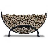 Woodhaven Large Crescent Firewood Rack